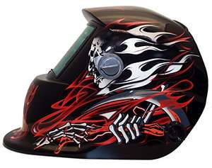 Expert Weld - XW2 - Welding Helmet - Reaper Red Shell Shade 9-13 + Grind - £20 Sold by safety-site and Fulfilled by Amazon