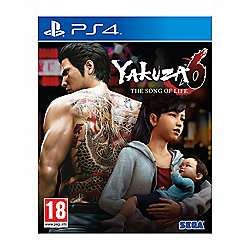 Yakuza 6: The Song of Life Essence of Art Edition PS4 £35 w/code Preorder @ Tesco Direct