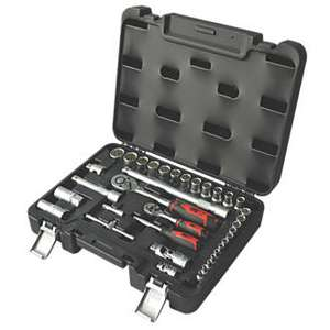 Forge Steel Mixed Socket Set 36 Pieces @ Screwfix - £24.99