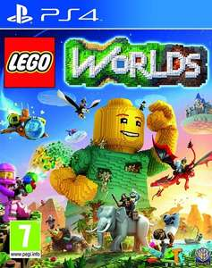 Lego Worlds for PS4 from Playstation PSN Singapore £11.81 using PS+ or 2 day trick