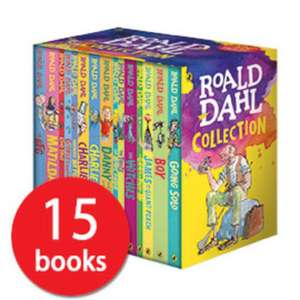 Updated 16/2 - Roald Dahl Collection - 15 Books (Collection) £21.99 Del + Free Gift w/code at Book People
