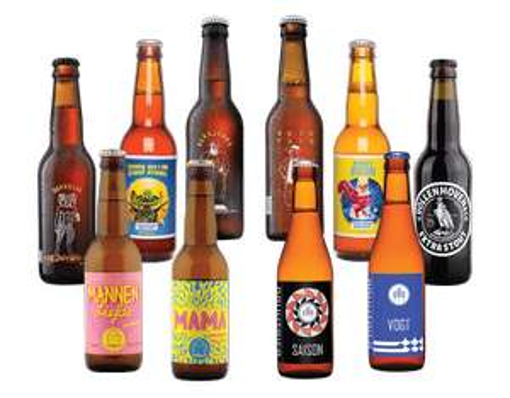 10 Craft Beers for £1 delivered @ Beer52