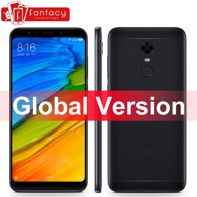 Global Version Xiaomi Redmi 5 Plus 3GB 32GB 18:9 Display Smartphone Snapdragon 625 Octa Core 4000mAh MIUI 9 B4 B20 CE FCC Metal gold colour £110.08 @ FANTACY TECHNOLOGY / aliexpress