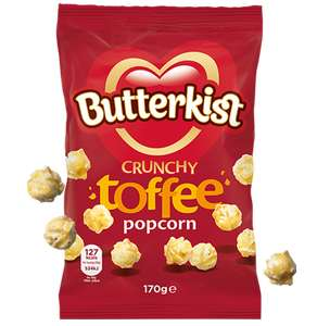 Farmfoods Toffee Butterkist 170g bag 59p or 2 for £1