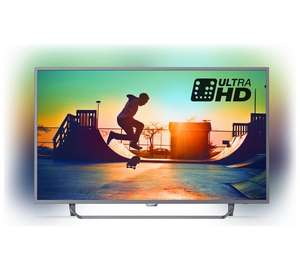 Philips 50PUS6272 50 Inch 4K UHD Smart TV with Ambilight £419 @ Argos