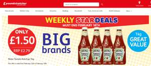 Heinz Tomato Ketchup 1KG now only £1.50 in Poundstretcher