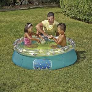 Beach Shack 5Ft Quick Up Pool £6 @ Tesco Direct