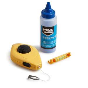 MAC ALLISTER CHALK LINE & REEL SET £3 @ B&Q free click and collect