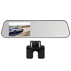 AUTO-VOX M6 4.5'' IPS Touch Screen FHD 1080P Mirror Diving Recorder Car DVR Dash Cam WDR - £61.91 Sold by Icarmore and Fulfilled by Amazon