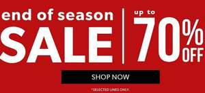 New Look up to 70% off now online
