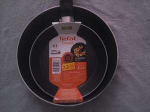 Tefal  Essential Set of Non Stick Frying Pans £5 @ Tesco Instore