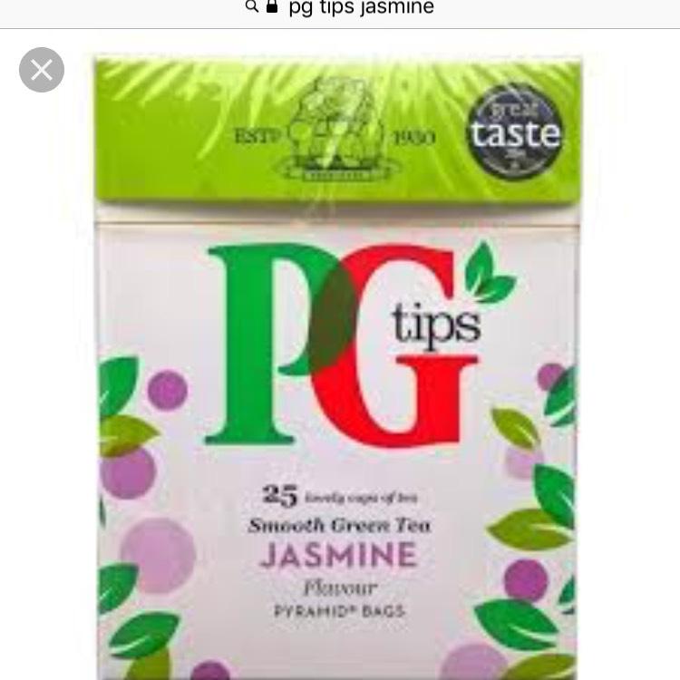PG green tea Jasmine scanning at 50p in Poundland Argyle street, Glasgow