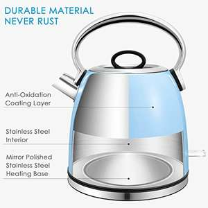 Aicok Kettle Electric 3000W Fast Water Kettle - £23.49 Sold by Funnyhome and Fulfilled by Amazon-  lightning deal