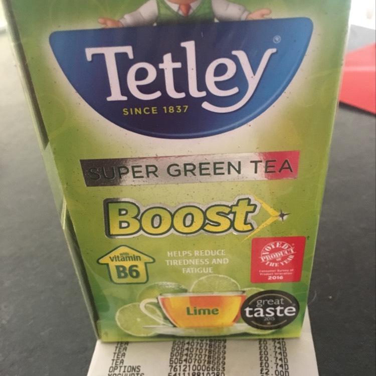 Tetley Super Green Tea (Lime) 50p at Asda instore (Clydebank)