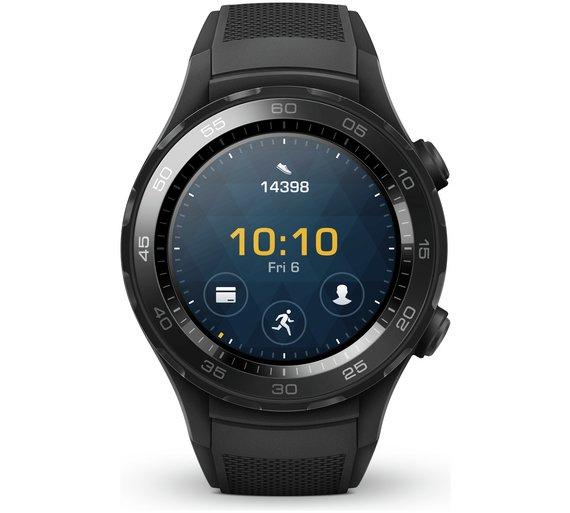 Huawei Watch 2 Bluetooth Sport Smart Watch - Black £199 at Argos