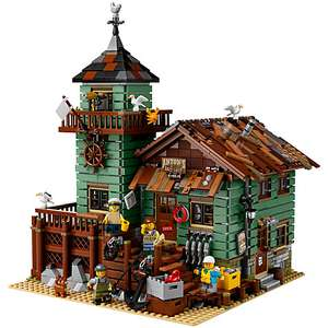 LEGO Ideas 21310 Old Fishing Store £109.99 John Lewis