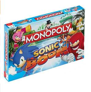 Sonic Boom Monopoly £11.44 (prime) sold by leisurezone fulfilled by amazon