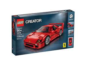 LEGO Ferrari F40 10248 - RETIRED but BACK IN STOCK - £74.99 delivered @ Lego