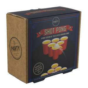 Shot Pong Game was £5 now £1 Del with code @ Debenhams