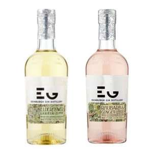 Edinburgh Gin Rhubarb and Ginger Liqueur OR Elderflower Liqueur £15 @ Asda