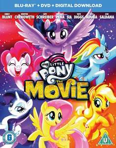 My Little Pony (with DVD and Digital Download) [Blu-ray] - £14.99 delivered @ Zoom