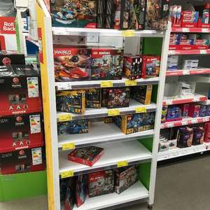 Lego up to 75% off selected sets in store @ Asda (Redditch)