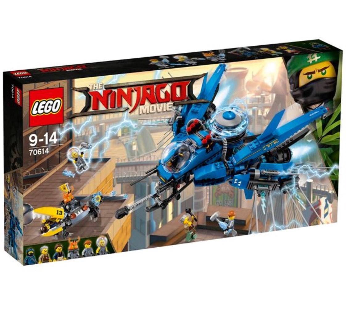 LEGO - Ninjago Movie Lightning Jet - 70614 - £30 @ Debenhams