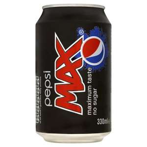 Pepsi/ Pepsi Max 3x 24 for £17 = 23.6p/ can @ Farm Foods - gets better as you can use the £2.50 off £25 voucher on top = 20.14p/ can (you can download vouchers see my link)