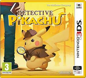 Pre-Order at Amazon Detective Pikachu game £27.99 (Prime) / £29.99 (non-Prime)