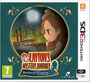 Layton's Mystery Journey: Katrielle and the Millionaires' Conspiracy (Nintendo 3DS) @ Amazon