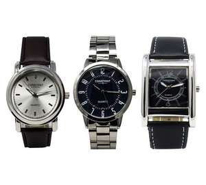 Constant Men's Set of 3 Watches £19.99 @ Argos