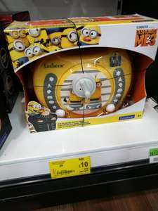Minions CD Player with mics £10 In-store Asda coryton cardiff