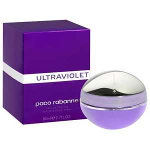 Paco Rabanne Ultraviolet (For Women) 80ml EDP £25.84 Delivered @ Perfumeshopping