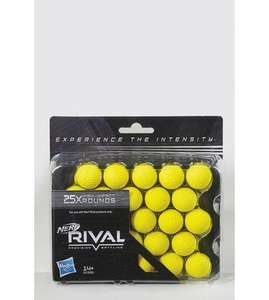 Nerf rival balls x25 for  £3.99 @Studio , £4.99 delivery (or free with code 047 for over £20 spends on new accounts)