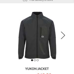 50% off YUKON JACKET at animal (up to 50% on other stuff to) - £42.99