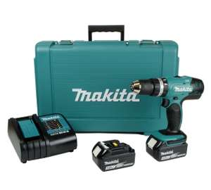 Makita LXT Cordless Combi Drill with 2 18V 3.0Ah Batteries - £134.99 @ Argos