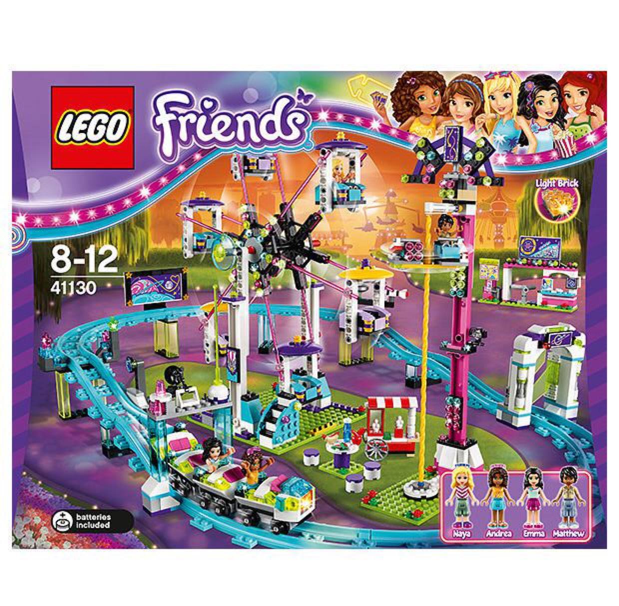 LEGO Friends Amusement Park Roller Coaster 41130 - £58.99 @ Amazon