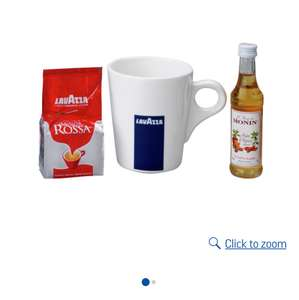 Lavazza festive coffee set £2.74 at Argos was £12.99