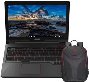 ASUS  Gaming Laptop -  i7 / GTX 1060 6GB / 8GB / 1TB + 128GB SSD + Asus Backpack **Now £969.87 / i5 model £849.97)** £999.97 @ Box
