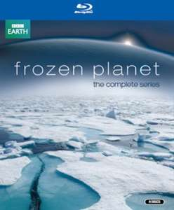 Frozen Planet - The Complete Series [Blu-ray Boxset] £5.72 delivered Magic Movies Ltd / Amazon