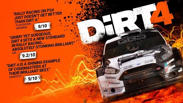 DiRT 4 (PC) £13.49 @ Steam