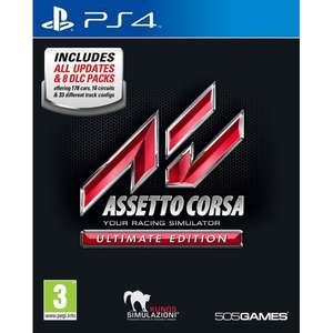 [PS4/Xbox One] Assetto Corsa Ultimate Edition - £25.99 - 365Games