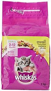 Whiskas kitten dry food 8kg for £14 with PRIME (Prime Exclusive)