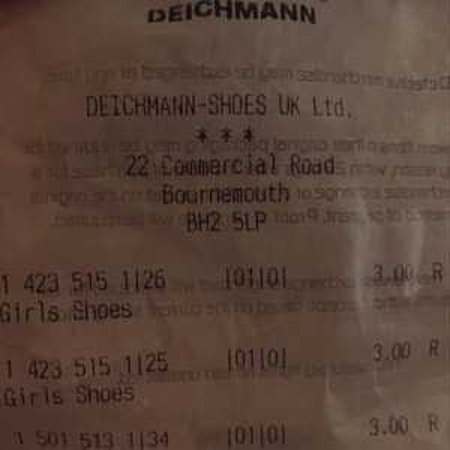 Kids boots - £3 instore @ Deichman (Bournemouth)