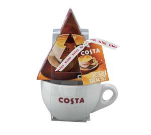 Costa festive mug and biscuit set £2.74 at Argos