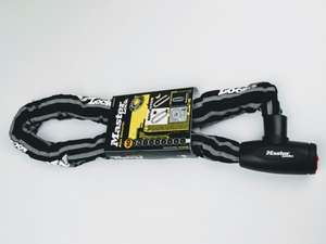 Master Lock hardened steel chain lock with reflective covering - £14.39 + £3.50 delivery at Edinburgh Bicycle