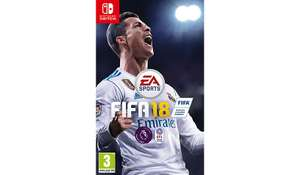 FIFA 18 [Nintendo Switch] £22 (free C&C) at Asda