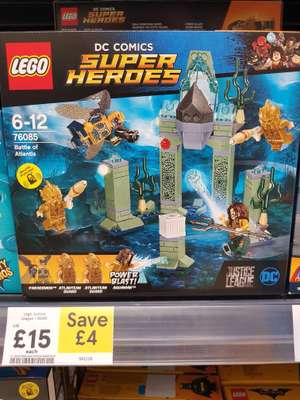 Lego Justice League 76085 £15 instore @ Tesco - Bar hill