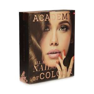 Academy of Colour - Nails Of Colour Look Book £6.30  @ Debenhams - Code SH4Z Free Delivery