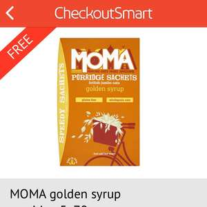 FREE 5 porridge sachets  via ASDA (£1.50) using CHECKOUTSMART App